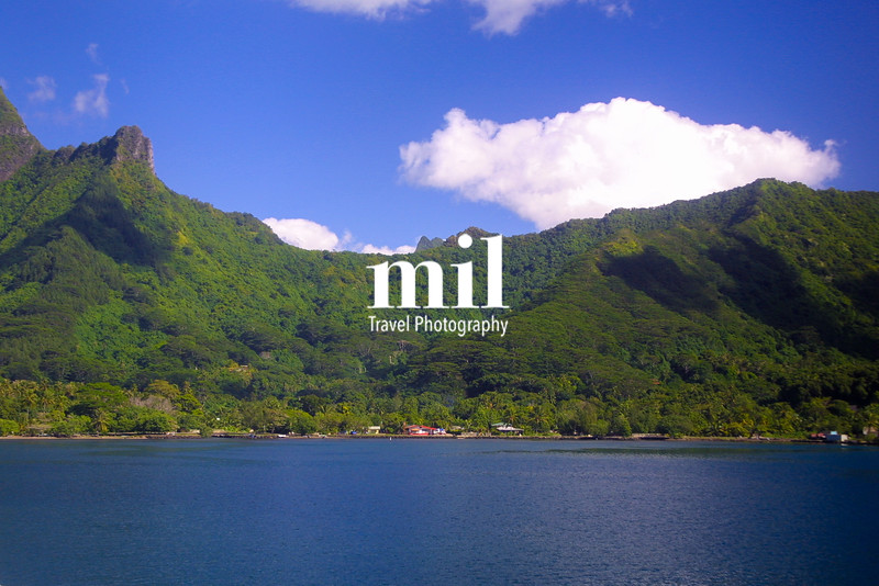 Moorea in the French Polynesia