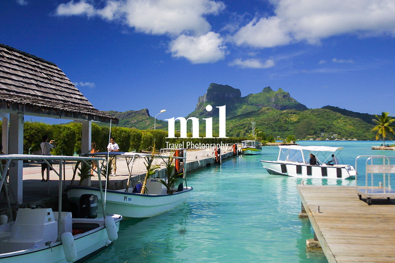 Bora Bora in the French Polynesia
