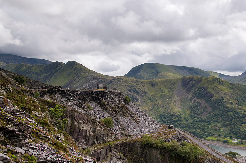 More of the Dyffryn level, and the Llanberis Valley