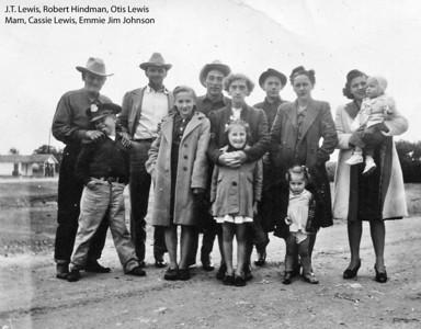 Old Lewis family photos
