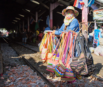 in the market of Samut Sakhon city, Samut Sakhon province, Thailan