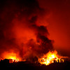 The Waldo Canyon fire made a run into Colorado Springs Tuesday night, June 26, 2012. Karl Gehring/The Denver Post