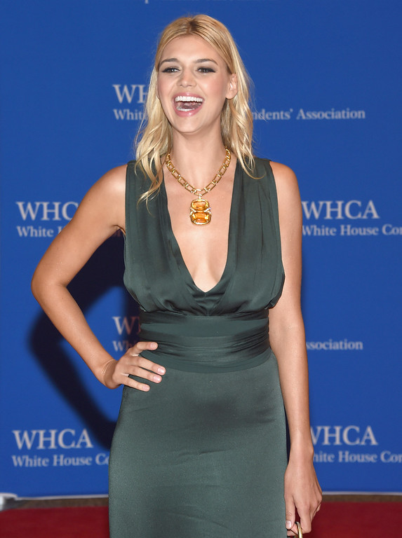 . Model Kelly Rohrbach attends the 102nd White House Correspondents\' Association Dinner  on April 30, 2016 in Washington, DC.  (Photo by Larry Busacca/Getty Images)