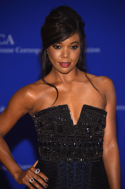 . Actress Gabrielle Union attends the 102nd White House Correspondents\' Association Dinner  on April 30, 2016 in Washington, DC.  (Photo by Larry Busacca/Getty Images)