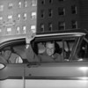 Evangelist Billy Graham  Waving  Car