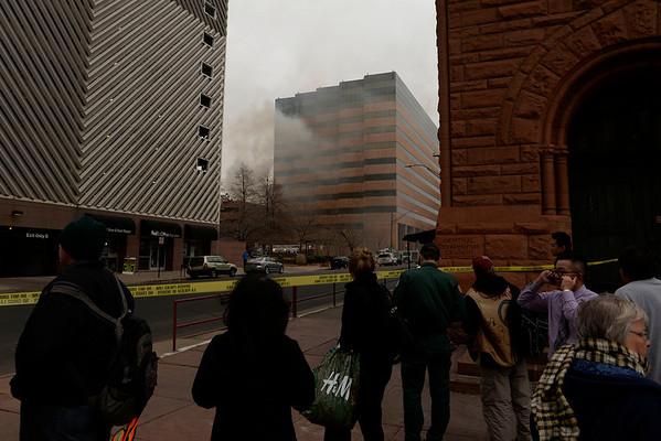 2013-12-03 Fire Downtown Denver