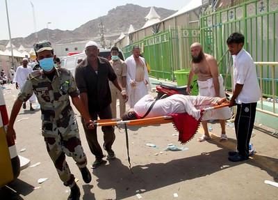 2015-09-24 Hajj stampede kills at least 450