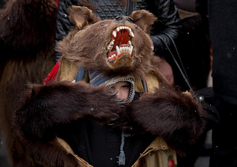 Romania New Year's Bear Ritual