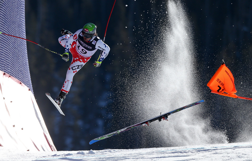 ". In this image released by World Press Photo titled ""FIS World Championships\"" by photographer Christian Walgram for GEPA pictures which won the first prize in the Sports Singles category shows Czech Republic\'s Ondrej Bank crashing during the downhill race of the Alpine Combined at the FIS World Championships in Beaver Creek, Colorado, USA, on 15 Feb. 15, 2015. (Christian Walgram/GEPA pictures, World Press Photo via AP)"