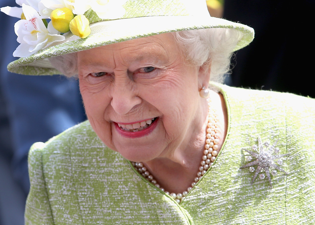 . Queen Elizabeth II meets the public on her 90th Birthday Walkabout on April 21, 2016 in Windsor, England. Today is Queen Elizabeth II\'s 90th Birthday. The Queen and Duke of Edinburgh will be carrying out engagements in Windsor.  (Photo by Chris Jackson/Getty Images)