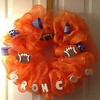 Broncos Wreath