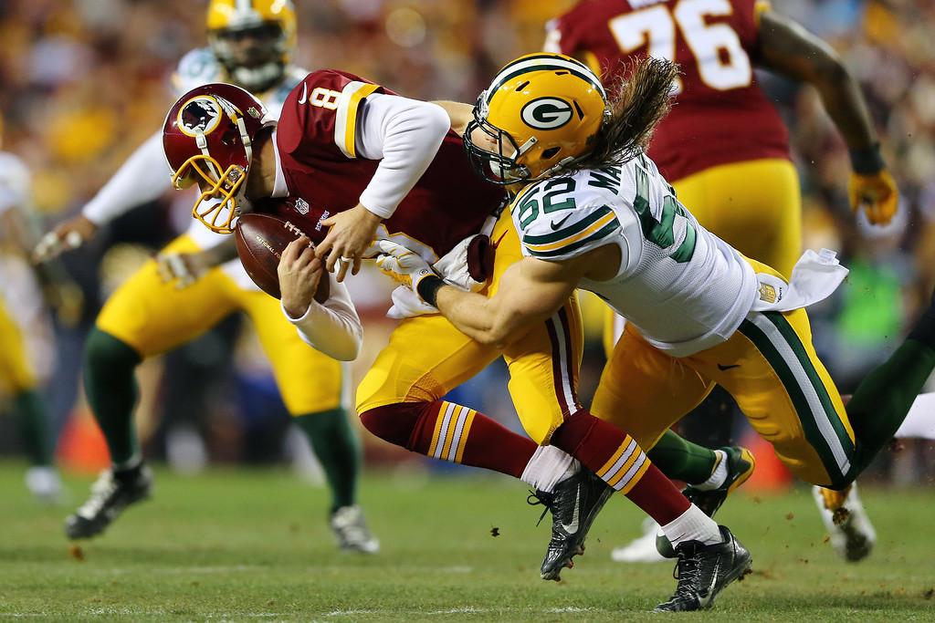 Clay Matthews Packers Sack