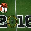 APTOPIX Playoff Championship Clemson Alabama Football
