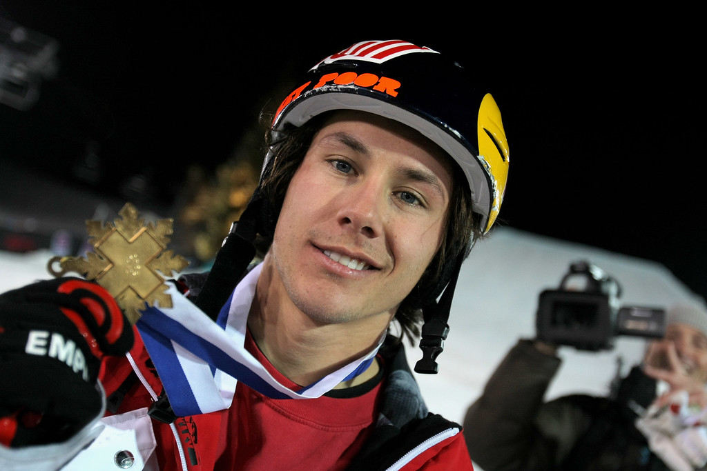 . Simon Dumont of Bethel, Maine won the gold medal in the Skiing Big Air event at Winter X Games 13 on Buttermilk Mountain on January 24, 2009 in Aspen, Colorado.  (Photo by Doug Pensinger/Getty Images)