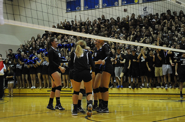 2015-09-15 Chaparral vs Grandview Volleyball