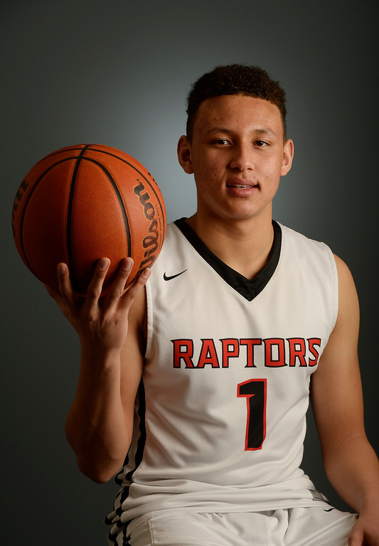 . The  Colorado All-State basketball teams for boys and girls at The Denver Post on Wednesday, March 30, 2016. Colbey Ross of Eaglecrest High School a senior.  (Photo by Cyrus McCrimmon/ The Denver Post)