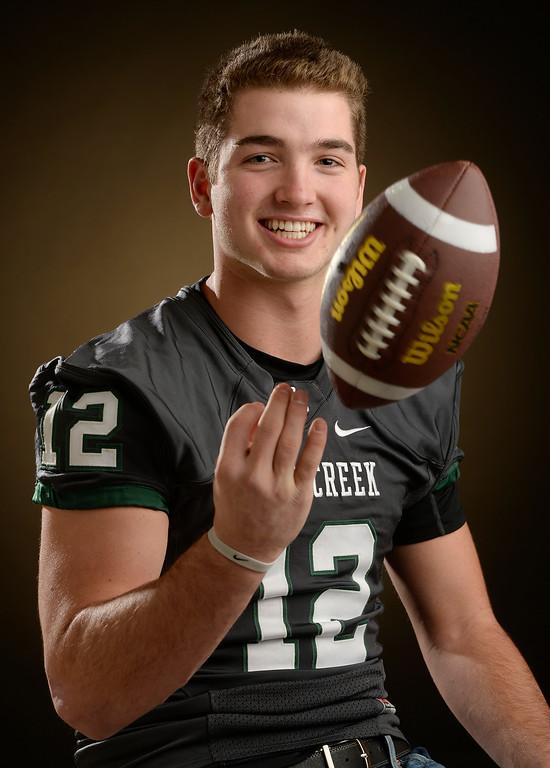 . DB JoJo Domann  senior at  Pine Creek High School for The Denver Post  2015 All-Colorado High School Football Team  on Wednesday, December 16, 2015. (Photo by Cyrus McCrimmon/The Denver Post)