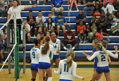 2013-08-31 Doherty vs Grandview volleyball