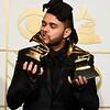 APTOPIX The 58th Annual Grammy Awards - Press Room