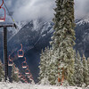 Copper Mountain Resort started snowmaking late Monday night signifying the impending start of ski and snowboard season, officials said. Photo by Tripp Fay, Copper Mountain Resort