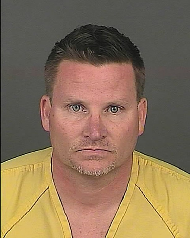 . This undated file photo provided by the Denver Police Department shows Richard Kirk. The Denver man accused of eating marijuana-infused candy he bought at a legal pot shop and then killing his wife while she described her husband\'s erratic behavior on a 911 call has changed his plea to not guilty by reason of insanity. (Denver Police Department via AP, File)