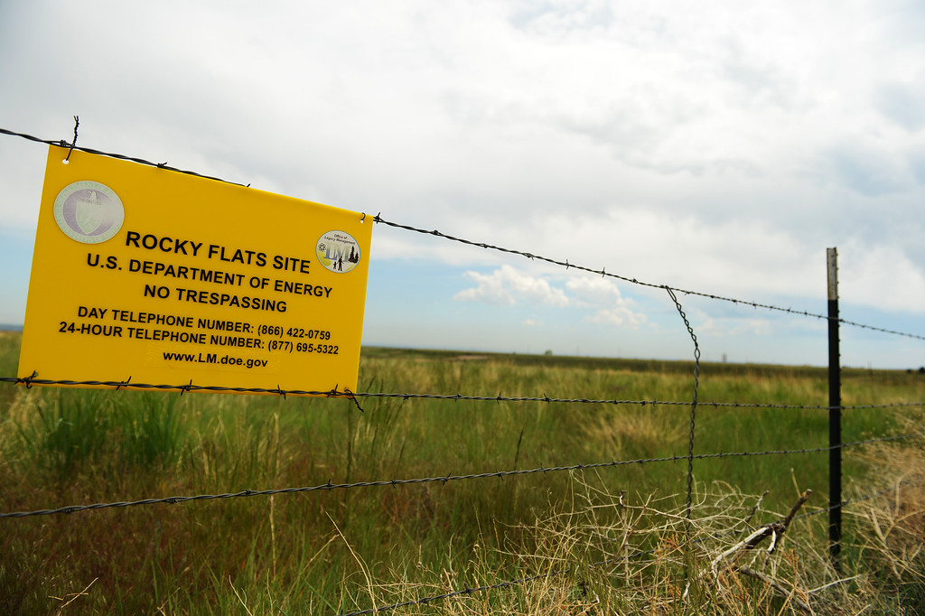 . Rocky Flats was once the site of the a nuclear weapons production facility, May 29, 2014. This June will be 25 years since the FBI raided Rocky Flats. (Photo by RJ Sangosti/The Denver Post)