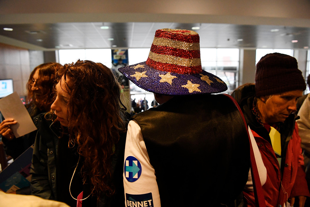. Colorado Democratic State Convention at the Budweiser Events Center April 17, 2016. (Photo by Andy Cross/The Denver Post)