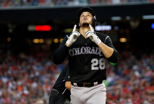 2015-08-08 Rockies lose to Nationals, 6-1