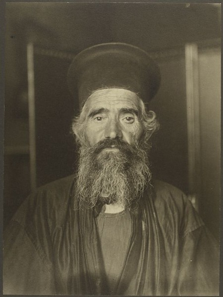 . Rev. Joseph Vasilon, Greek-Orthodox priest. (Photo by Augustus Sherman)