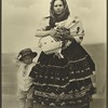 Slovak woman and children. (Photo by Augustus Sherman)