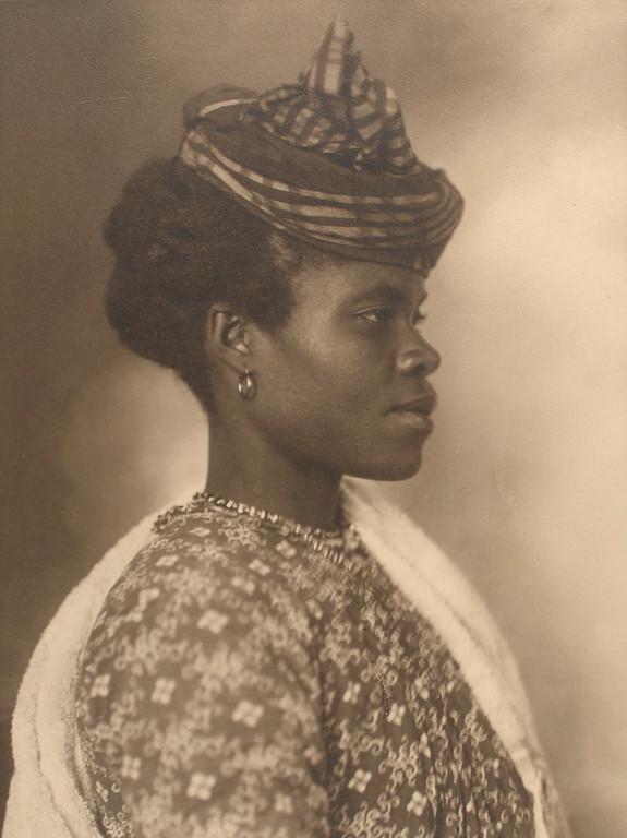 . Guadeloupean woman. (Photo by Augustus Sherman)