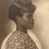 Guadeloupean woman. (Photo by Augustus Sherman)