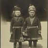Lapland children, possibly from Sweden. (Photo by Augustus Sherman)