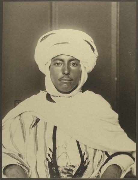. Algerian man. (Photo by Augustus Sherman)