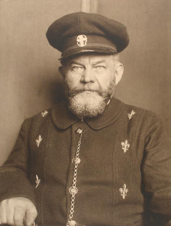 . Danish man. (Photo by Augustus Sherman)