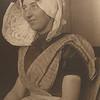 Dutch woman. (Photo by Augustus Sherman)