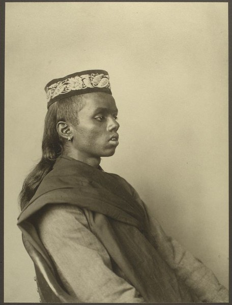 . Hindoo boy. (Photo by Augustus Sherman)