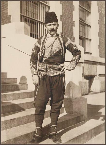 . Turkish man. (Photo by Augustus Sherman)