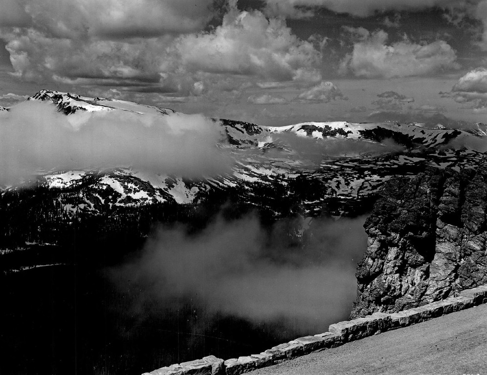 . Trail Ridge Road, Rocky Mountain National Park. Colo., 1939. (Denver Post Library photo archive)
