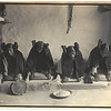 Title: The mealing trough--Hopi.  <br /> Date Created/Published: c1906.  <br /> Summary: Four young Hopi Indian women grinding grain.  <br /> Photograph by Edward S. Curtis, Curtis (Edward S.) Collection, Library of Congress Prints and Photographs Division Washington, D.C.