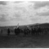 Title: Jicarilla fiesta.  <br /> Date Created/Published: c1905.  <br /> Summary: Jicarilla Apaches, most on horse back, moving toward encampment.  <br /> Photograph by Edward S. Curtis, Curtis (Edward S.) Collection, Library of Congress Prints and Photographs Division Washington, D.C.