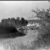 Title: On the Little Big Horn.  <br /> Date Created/Published: c1908 July 6.  <br /> Summary: Horses wading in water next to a Crow tipi encampment.  <br /> Photograph by Edward S. Curtis, Curtis (Edward S.) Collection, Library of Congress Prints and Photographs Division Washington, D.C.