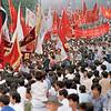 Rally in Beijing