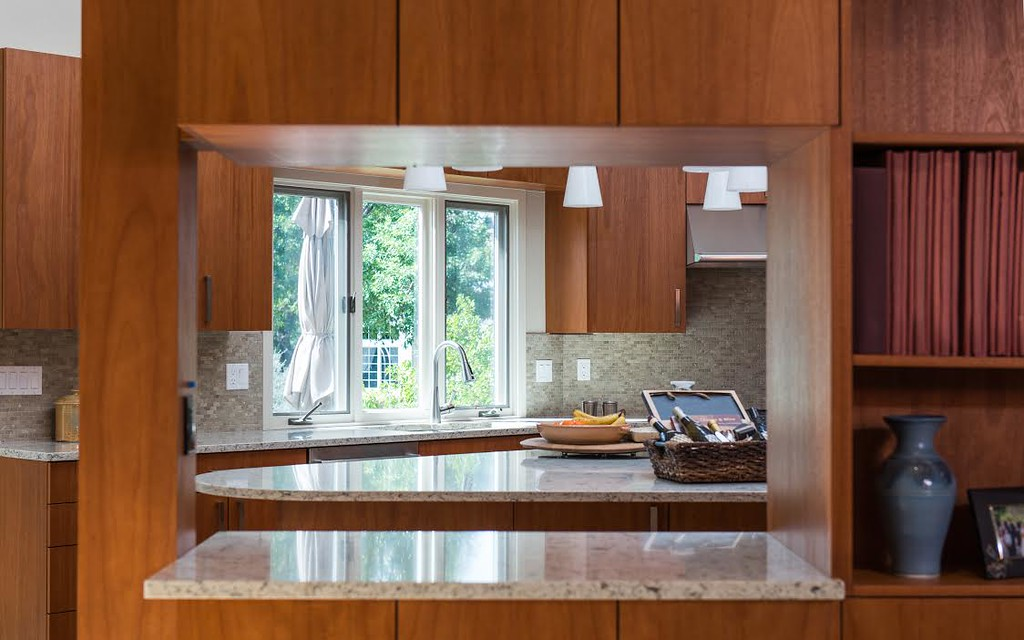 tropic brown granite countertops cherry cabinets