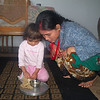 Self portrait with daughter. (Photograph by Mongali Gurung)