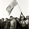 A Flag in June. Tiananmen Square – 1989. (Photo by Robert Croma)