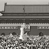 Mao and the Goddess. Tiananmen Square – 1989. (Photo by Robert Croma)