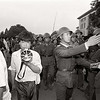 An Arrival in June. PLA troops arrive outside Tiananmen - 3rd June 1989. (Photo by Robert Croma)