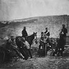 1855 - Officers and men of the 8th Hussars. (Roger Fenton Crimean War photograph collection, Library of Congress Prints and Photographs Division)