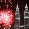 APTOPIX Malaysia New Years Eve